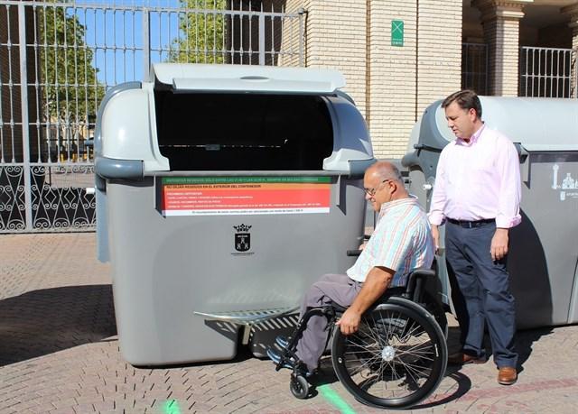 Este lunes comienza la instalación de mil nuevos contenedores en Albacete tras una inversión de un millón de euros