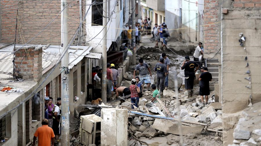 Perú: Entre huaicos y sequías