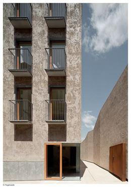 En Pamplona, el edificio de la calle Descalzos, premio 'Ciudad, Urbanismo y Ecología'