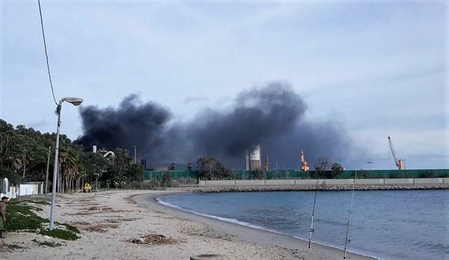 Verdemar interpondrá denuncia por un incendio en Acerinox en Los Barrios ya extinguido
