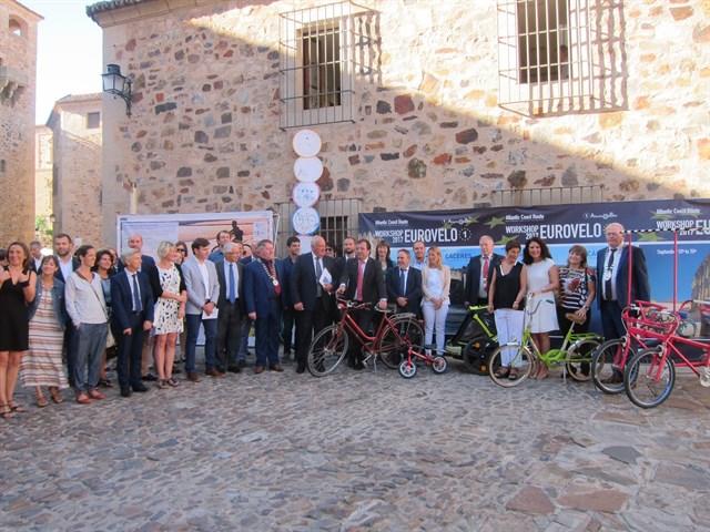 Siete países europeos impulsan 'Atlantic on bike' una ruta ciclista por varios países atlánticos