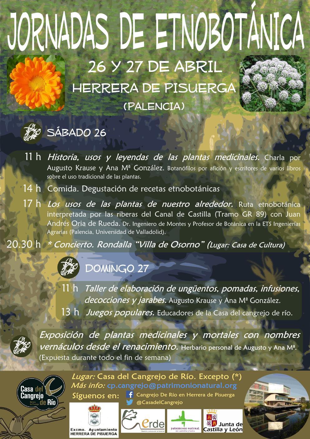 Jornadas de Etnobotánica en Herrera de Pisuerga