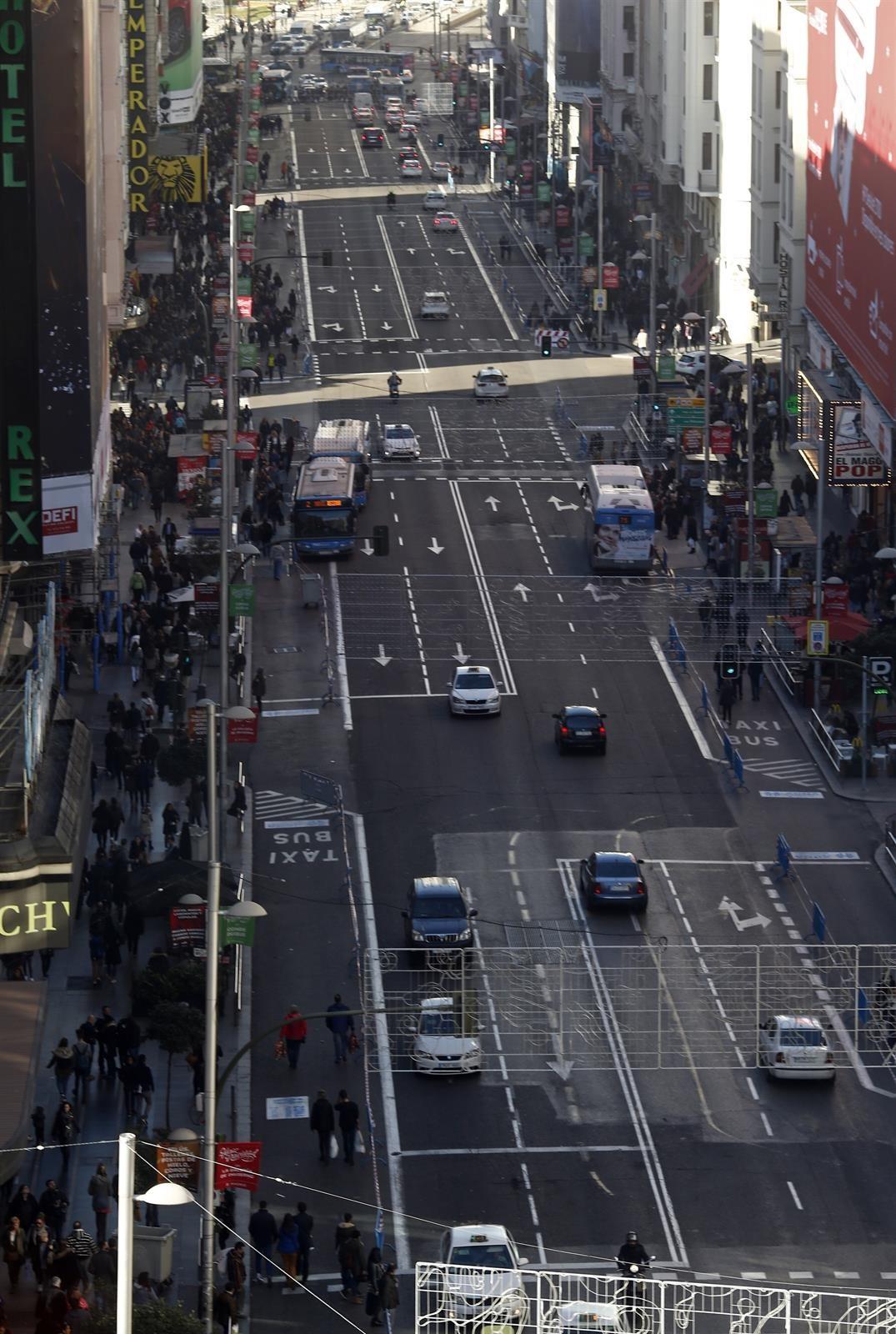 Los niveles de contaminación en Madrid están bajando