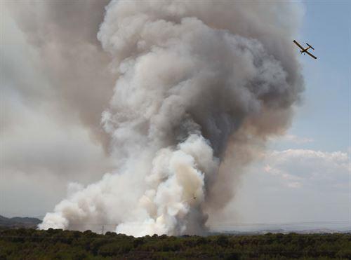 El fuego arrasa casi el triple de hectáreas que en el mismo periodo del año pasado