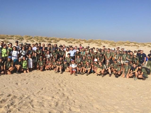 La expedición 'España Rumbo al Sur' visita el Espacio Natural de Doñana
