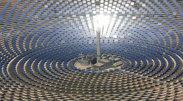 La industria termosolar apuesta por el desarrollo en el norte de África