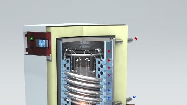 Primera caldera de condensación de biomasa