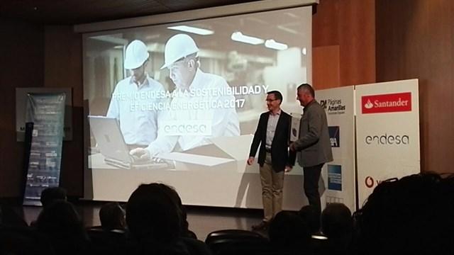 El CDO Covaresa recibe el Premio a la Sostenibilidad y Eficiencia Energética de Endesa por reducir la emisión de CO2