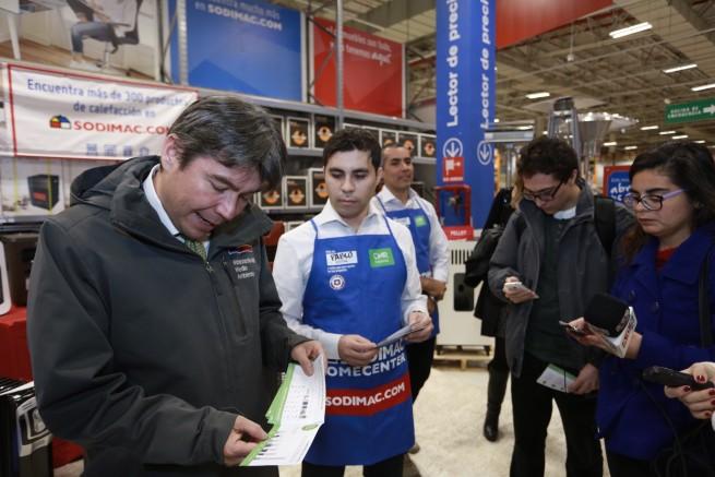 Chile. Ministro del Medio Ambiente lanza campaña 'por un calor limpio y sustentable'