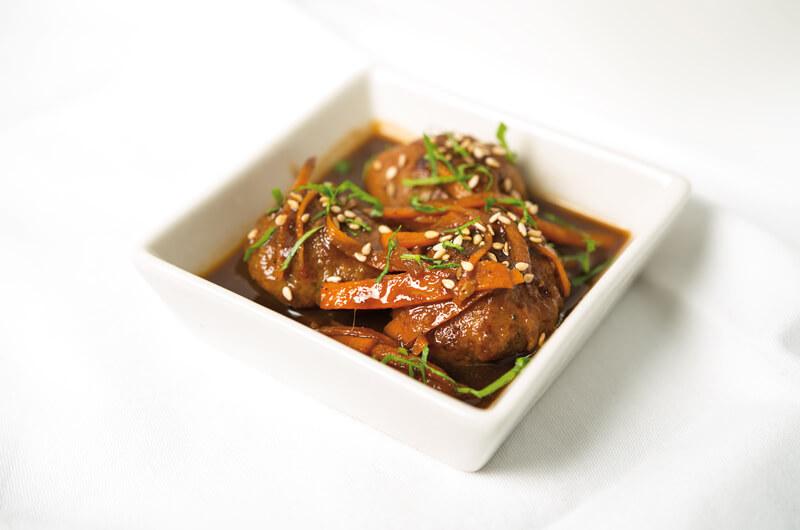 Receta Ecológica recomendada por ECOticias.com: Albóndigas de tofu con un toque de soja