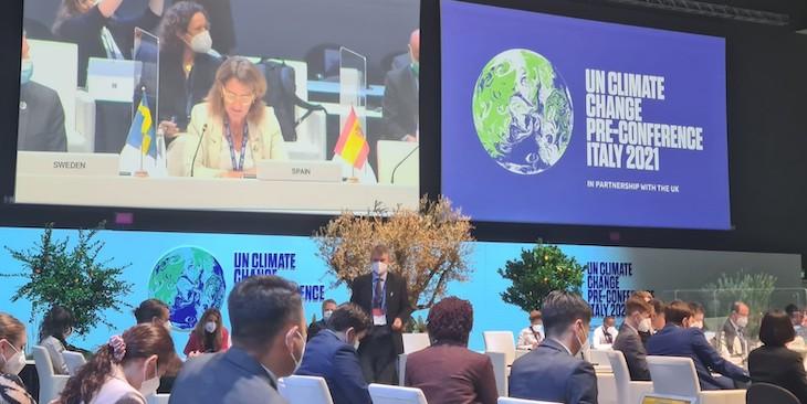 Siguen las reuniones previas a la COP26