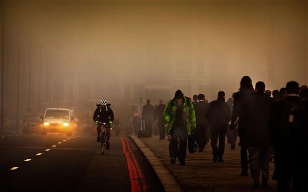 La contaminación atmosférica causa cáncer
