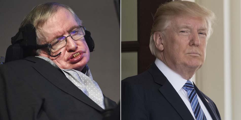 Stephen Hawking critica a Donald Trump por negar el cambio climático