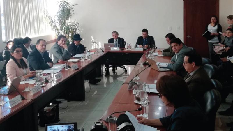 Consejo Sectorial de Hábitat y Ambiente analiza Programa Casa para Todos