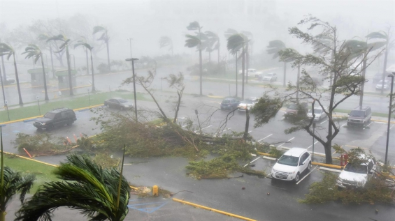 El huracán María destrozó Puerto Rico