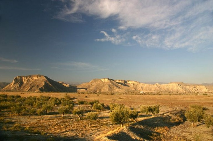 Sancionan la miserable extracción de aguas subterráneas sin permiso en Tabernas (Almería)
