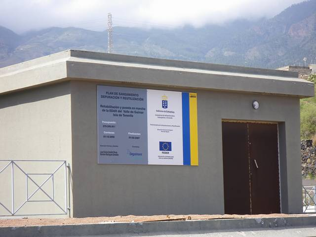 Depuradora del Valle de Güímar y la contaminación marina (Canarias)