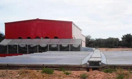 Un secador solar industrial permite mejorar la calidad del pimentón