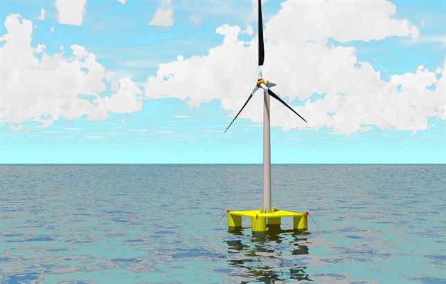 Arranca el primer ensayo de prototipo de energía eólica marina en aguas profundas