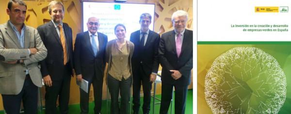 Informe 'La inversión en la creación y desarrollo de empresas verdes en España'