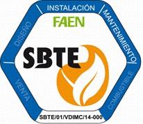 FAEN pionera en la creación del sello de calidad SBTE, para las mejores empresas Españolas de Biomasa