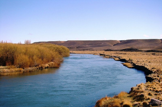 Argentina. ¡El Lago Musters se seca!