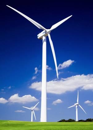 La energía eólica además ahorra agua
