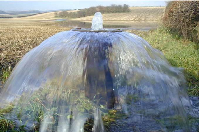 Las masas de agua subterránea se reducen un 21% en España