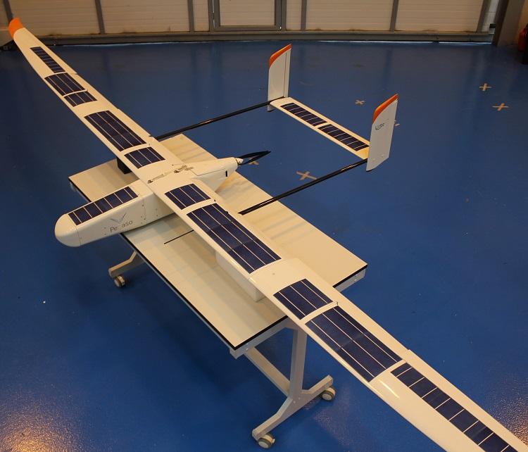 PEGASO, el avión solar no tripulado