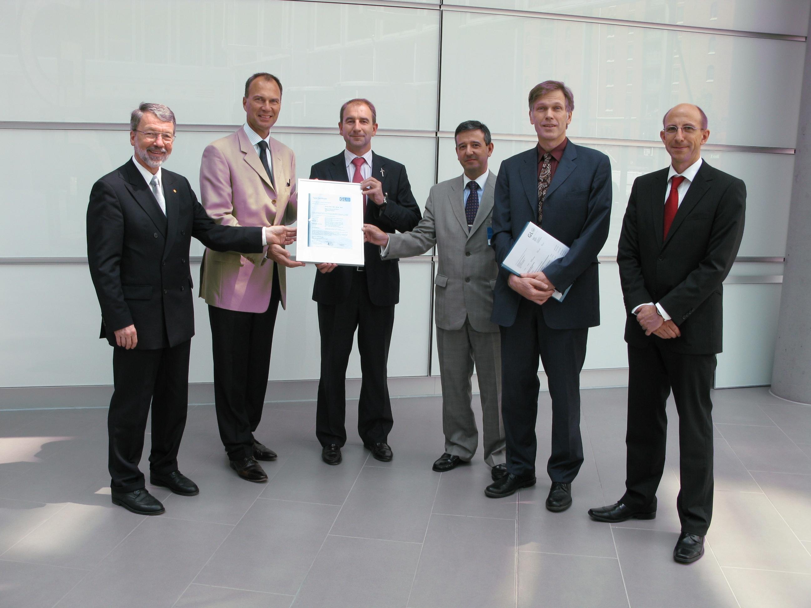 Gamesa obtiene el certificado de su aerogenerador G90 clase II de GL Renewables Certification