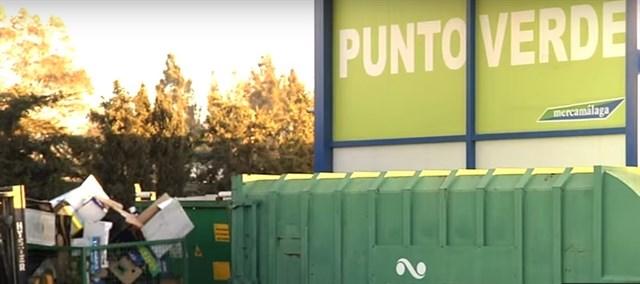 Mercamálaga suma más de 4.600 toneladas de residuos para su reciclado