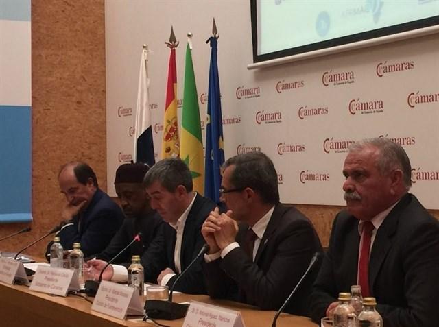 Fernando Clavijo presenta el Foro 'Africagua' sobre la búsqueda de negocios vinculados con energias renovables y agua