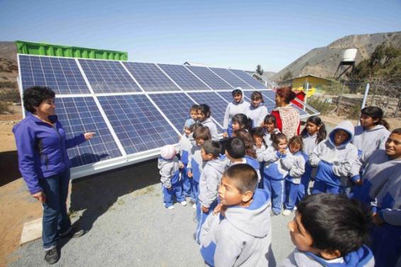 Argentina: Un colegio de Mendoza abastece sus aulas con paneles solares