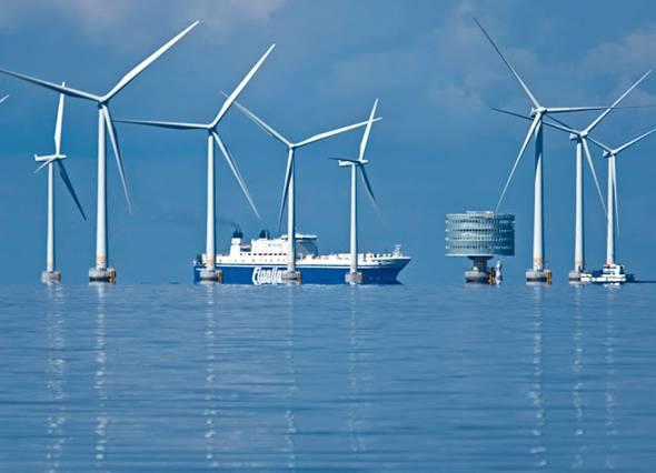 Se reducirán los costes de producción de energía eólica-marina en los próximos 10 años