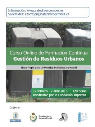 La Gestión de Residuos Urbanos, el curso de la Cátedra Ecoembes
