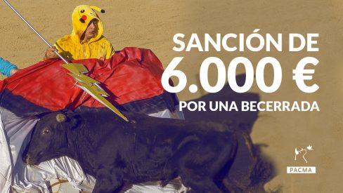 Sanción de 6.000€ al Ayuntamiento de Cercedilla por las crueles becerradas de 2016