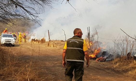 Argentina: Los incendios en Córdoba ya consumieron 6 mil hectáreas en 15 días