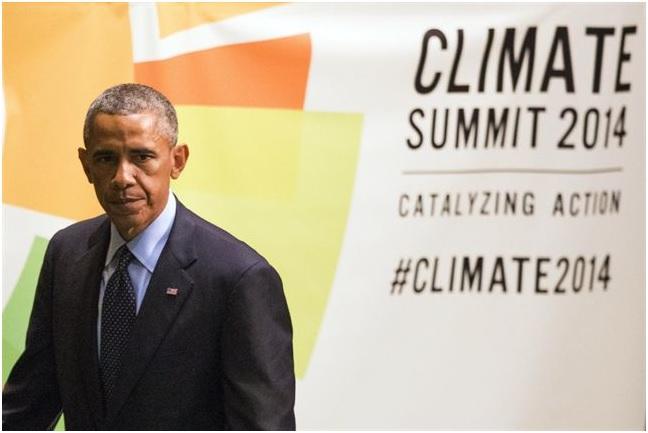 Obama: 'somos la última generación capaz de hacer algo respecto al cambio climático'