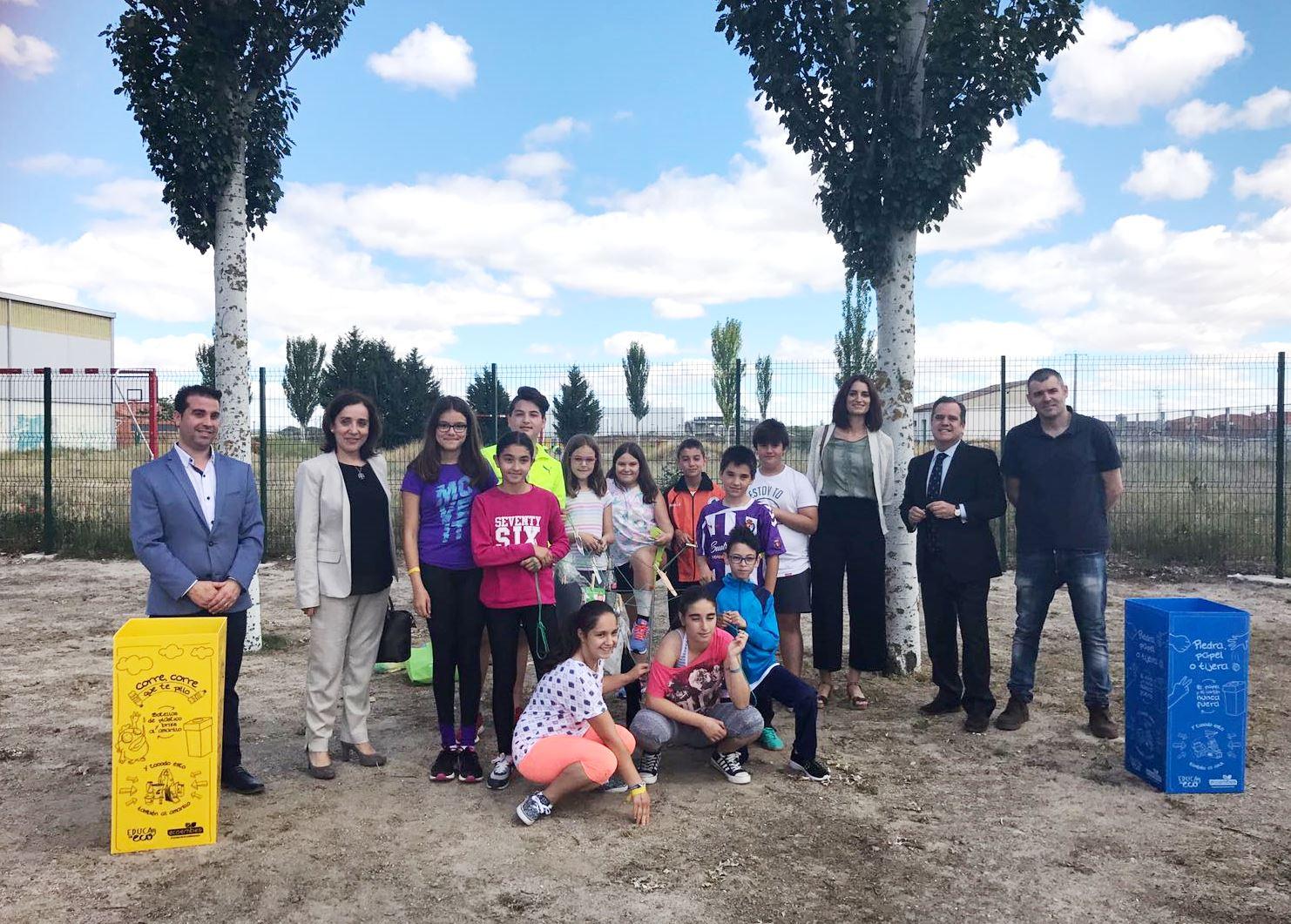 Los colegios de la provincia de Valladolid ya pueden inscribirse en los programas de Educación Ambiental