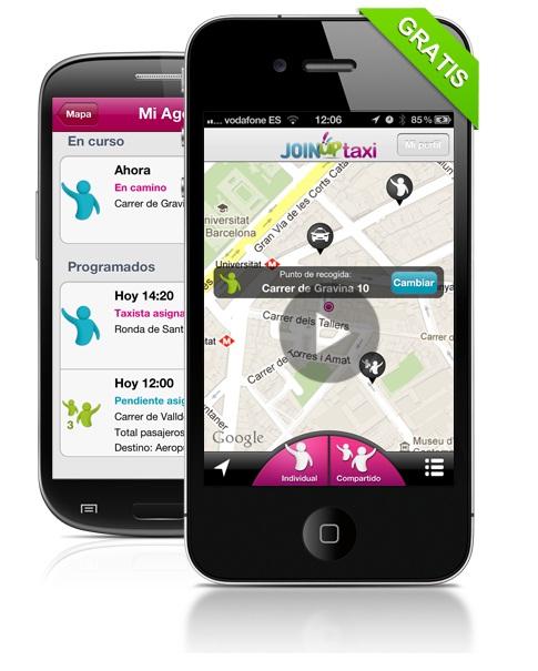JoinUp Taxi fomenta compartir taxi en Madrid