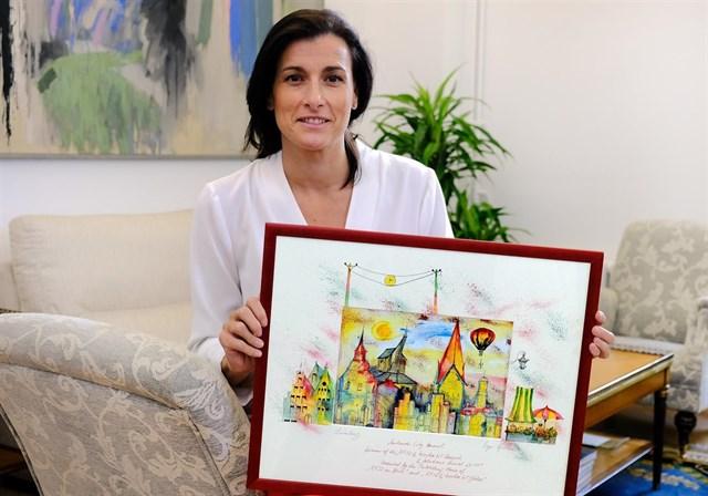 Santander, premiada en Düsseldorf por su