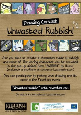 'Rubbish', de Hosco!, un cuento español en la 'Semana Europea de Prevención de Residuos'