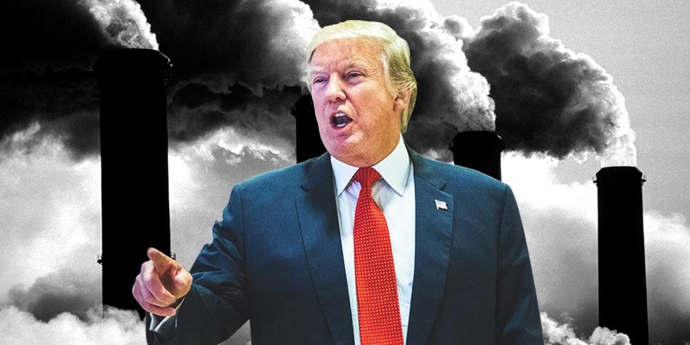 Trump da carpetazo a las medidas ambientales de Obama