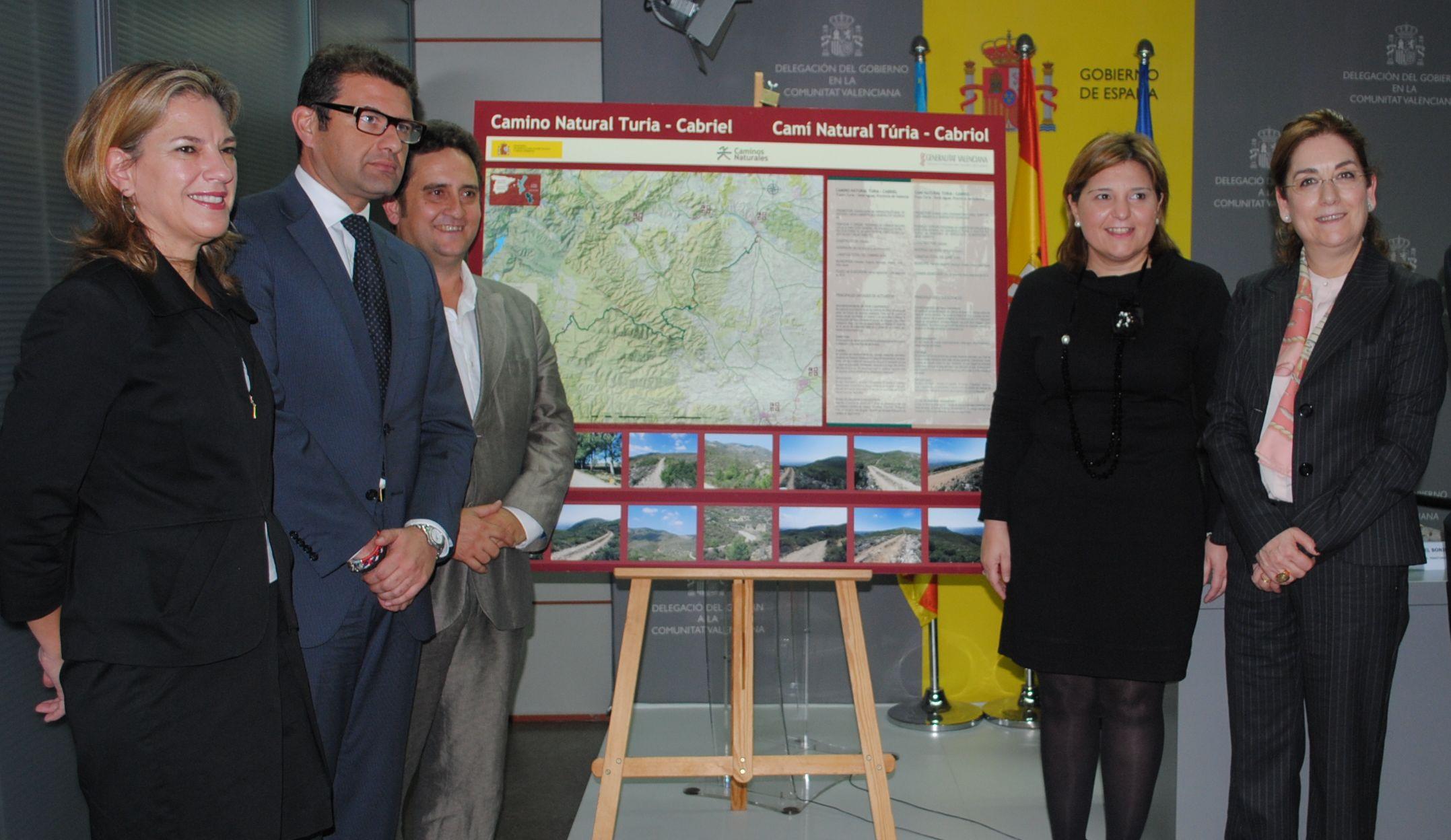 Medio Ambiente presenta las obras del Camino Natural de Turia-Cabriel en el tramo entre Turia y Siete Aguas