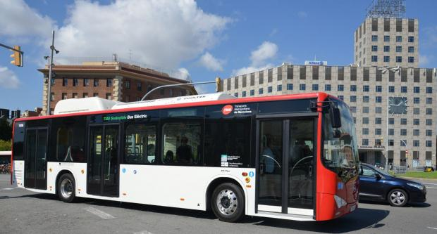 Las baterías, el secreto del nuevo autobús eléctrico K9