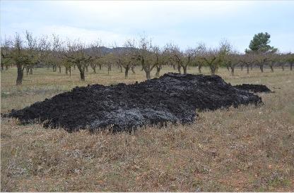 La empresa Cantería de Arucas vierte de manera ilegal lodos y escombros desde hace muchos años