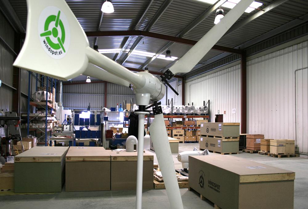 El Ministerio de Ciencia e Innovación  ayuda a la empresa cántabra Sonkyo Energy a desarrollar su nuevo aerogenerador de 15 Kw.