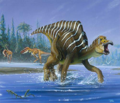 Los 'hadrosaurios' sobrevivieron en Alaska