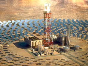BrightSource now offers molten salt storage for solar thermal