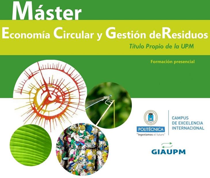 Máster Economía Circular y Gestión de Residuos